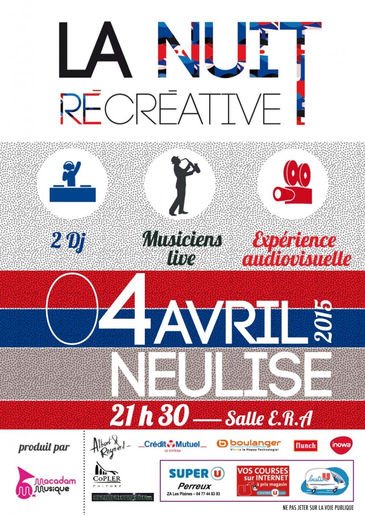 flyer nuit recreative neulise