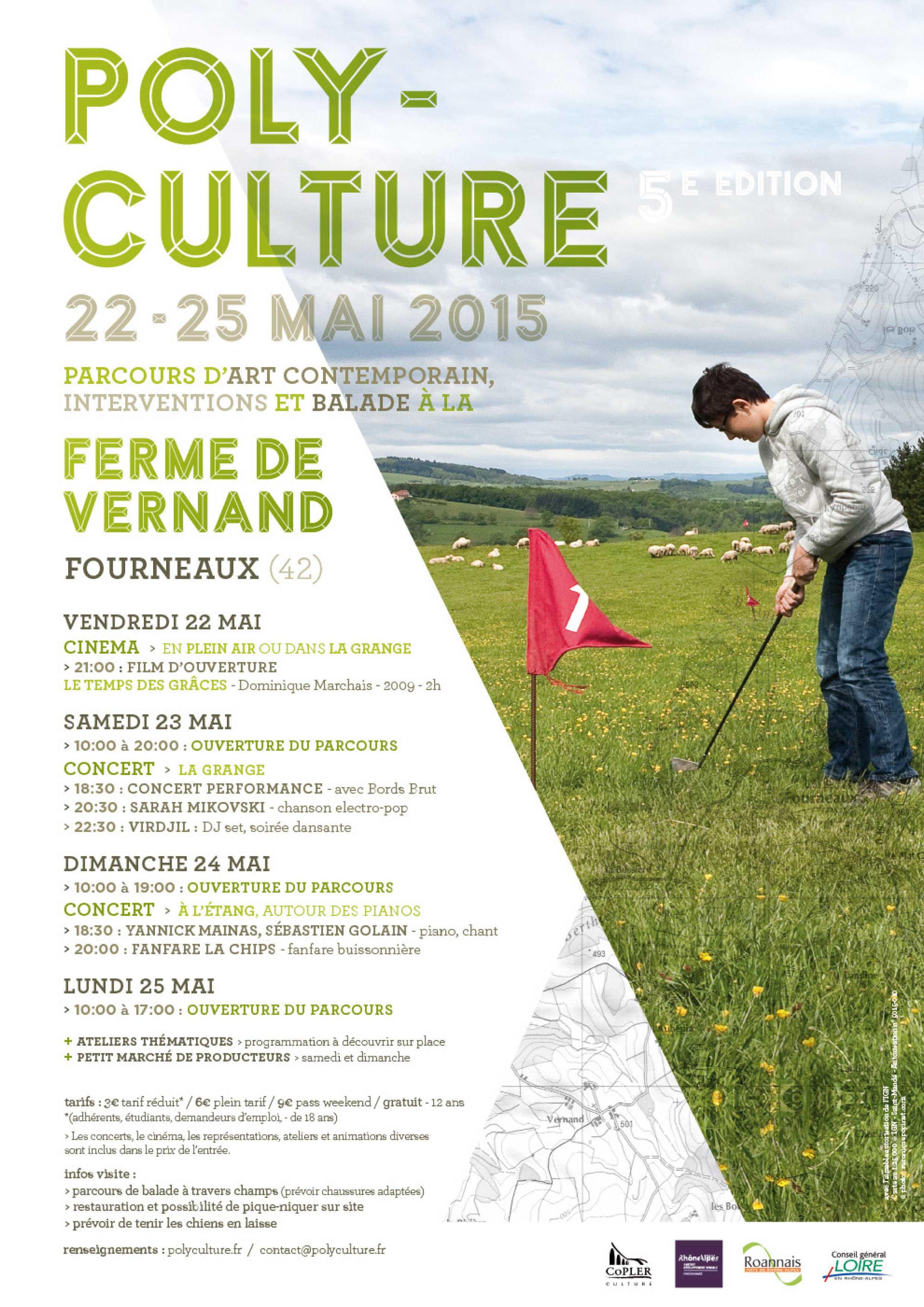 Festival Polyculture du 22 au 25 mai à Fourneaux