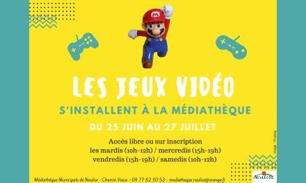 Venez faire des jeux vidéo à la médiathèque !
