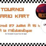 Tournoi Mario-Kart à la médiathèque !