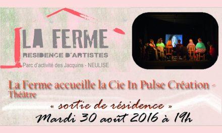 Rencontre de la compagnie «In Pulse» en résidence à La Ferme