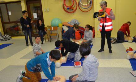 Gestes de 1er secours à l'école publique