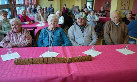 Derniers anniversaires de l'année à la maison de retraite