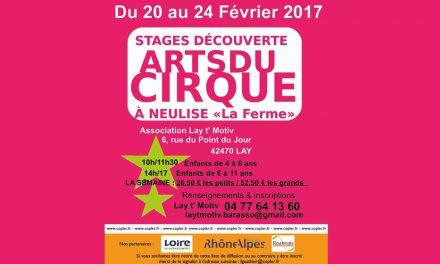Stage découverte Arts du cirque à La Ferme