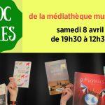 Troc livres à la médiathèque samedi 8 avril