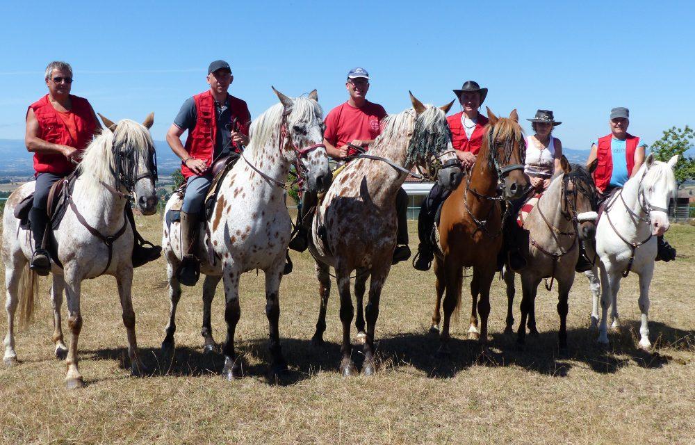 Les Cavaliers d'Urfé participent à l'Equirando de Bourg en Bresse