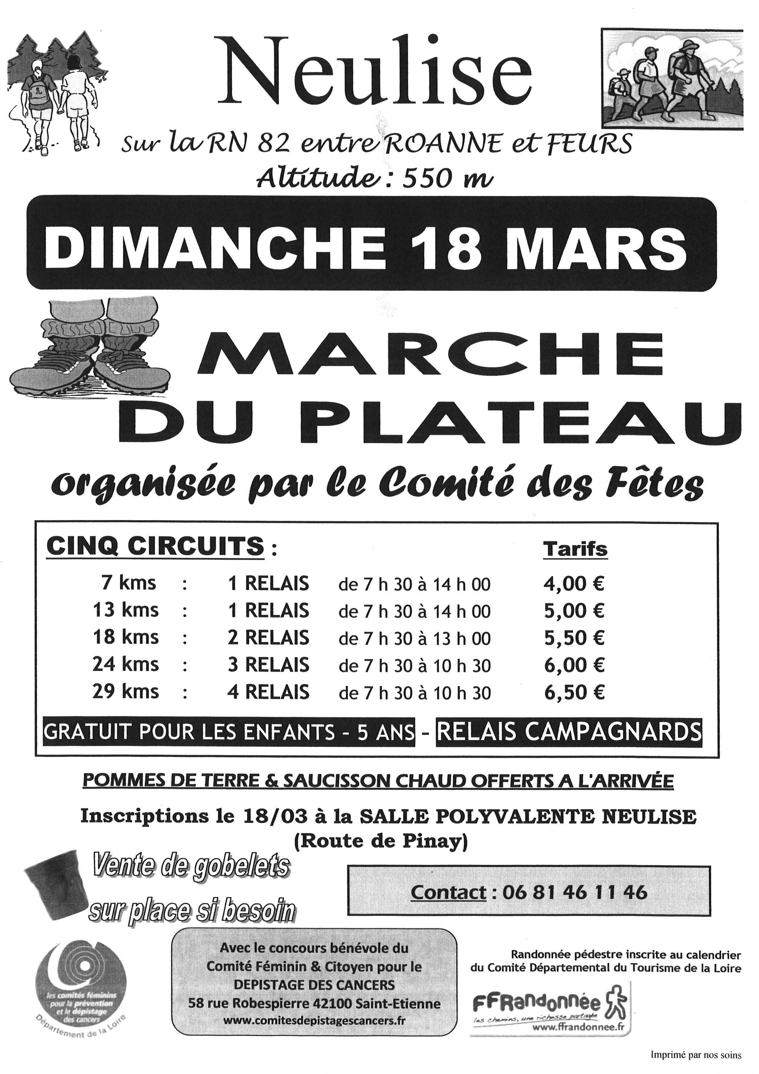 marche du plateau 18 mars