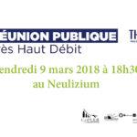 Réunion publique fibre optique vendredi 9 mars