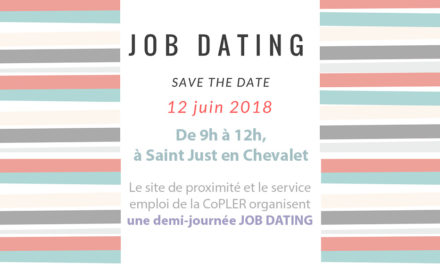 Job Dating à St-Just en Chevalet le 12 juin