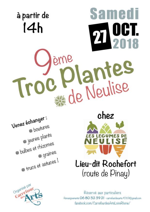 """Troc plantes de Neulise chez """"Les Légumes de Neulise"""" samedi 27 octobre 2018"""