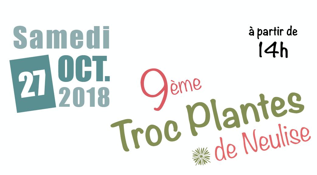 9ème Troc plantes ce samedi à Neulise