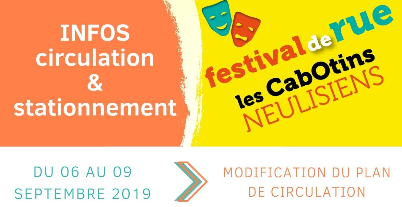 Festival : infos circulation et stationnement