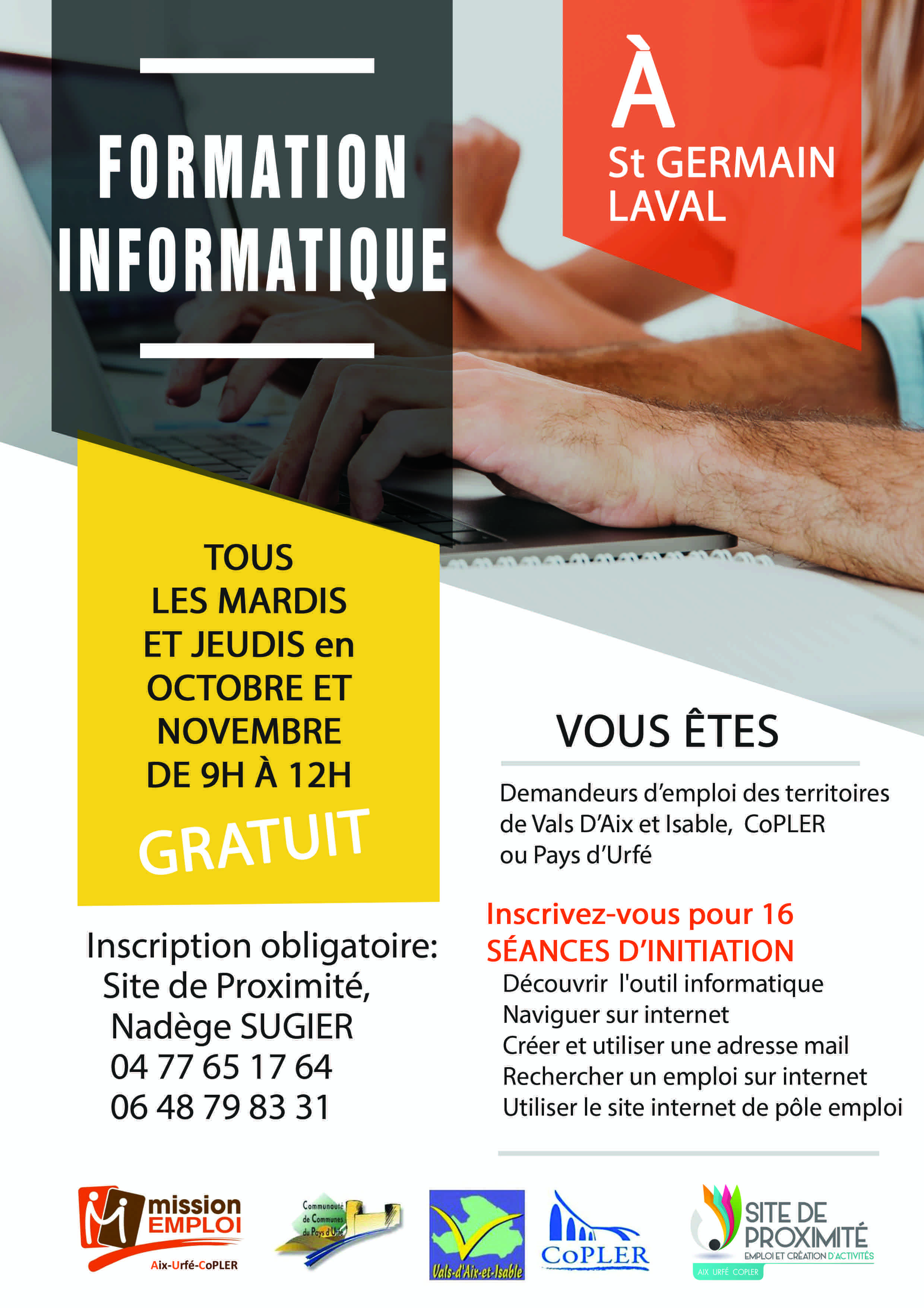 Formation informatique Site de proximité St-Germain Laval