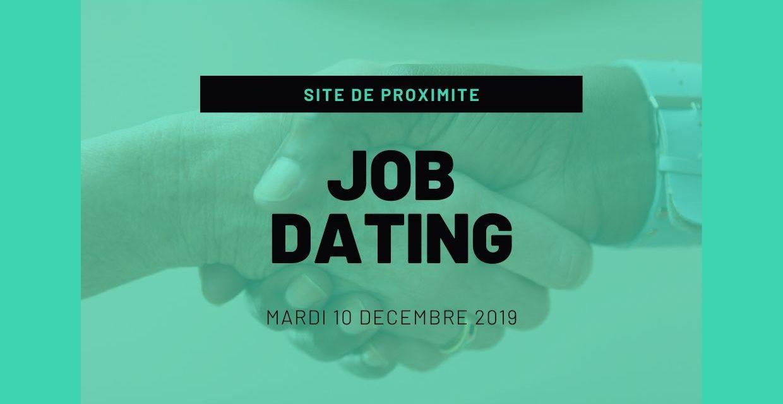 Job Dating le 10 décembre de 9 à 12h