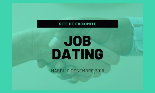 Job Dating le 10 décembre de 9 à 12h