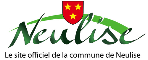 le logo de la Commune de Neulise et son blason Rouge