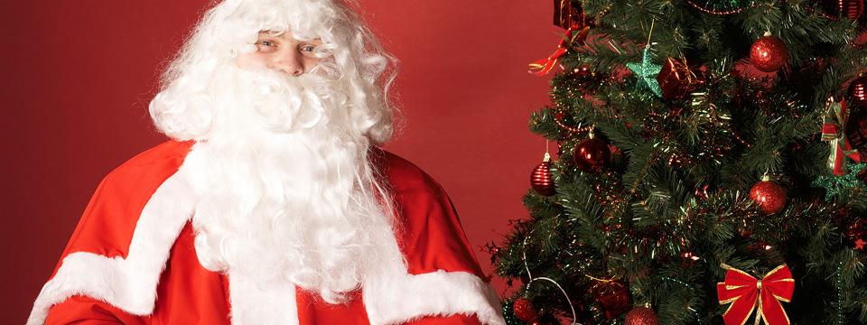 Le Père Noël à la médiathèque de Neulise