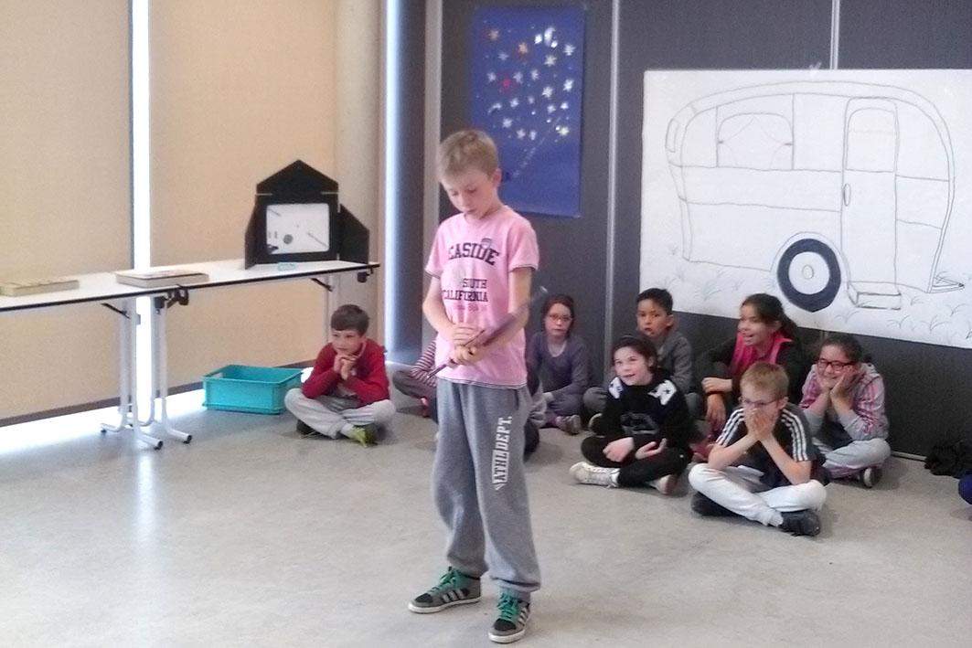 les élèves de CE2-CM1 de Mme Dejob (école publique de Neulise) ont mis un point final à leur voyage littéraire.