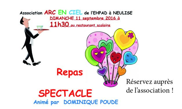Repas-spectacle dimanche 11/09 à 11h30