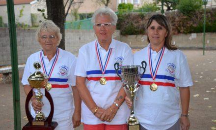 Boules : des Neulisiennes à nouveau championnes de France !