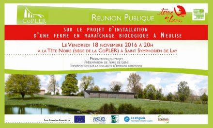 Soutenez l'installation d'une ferme en maraîchage bio à Neulise