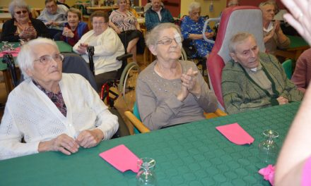 Anniversaires de novembre à la maison de retraite