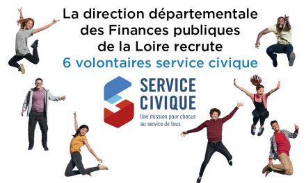 La DDFP de la Loire recrute 6 services civiques