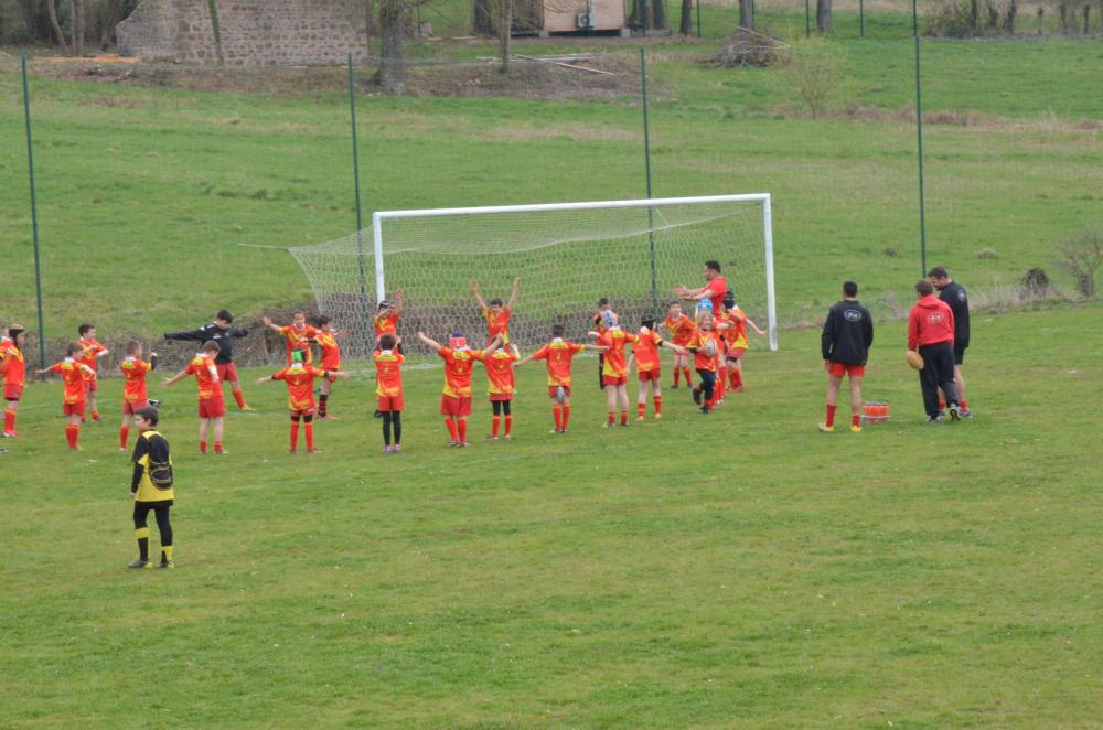 Tournoi de rugby à Neulise le 18 mars