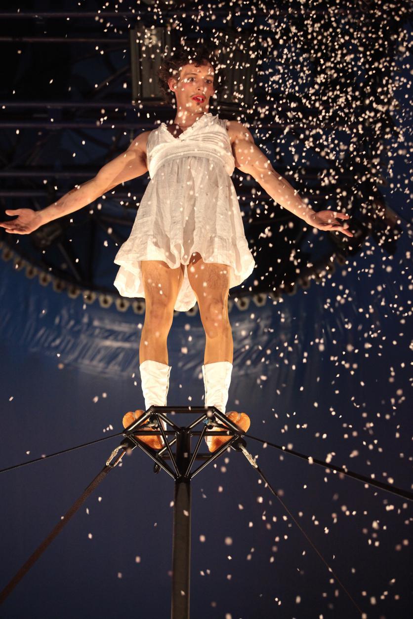 Cirque Aléatoire sera au festival Les Cabotins Neulisiens