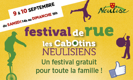 Festival Les Cabotins Neulisiens les 9 et 10 septembre