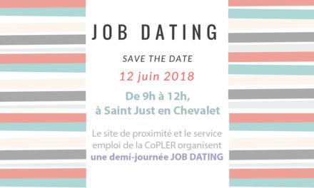 Job Dating à St-Just en Chevalet le 12 juin