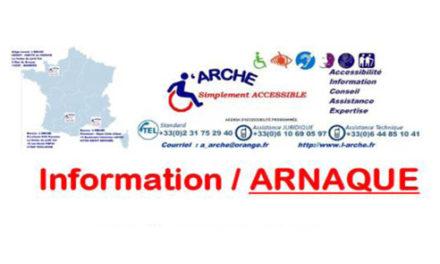 Info arnaques : registre d'accessibilité
