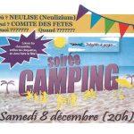 Soirée camping du comité des fêtes