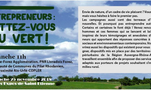 Conférence «Entrepreneurs, mettez-vous au vert !»