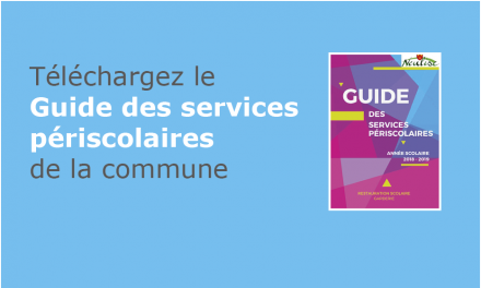 Services périscolaires – Téléchargez le guide !