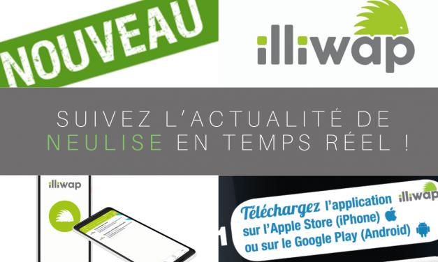 Suivez les actus de Neulise avec Illiwap