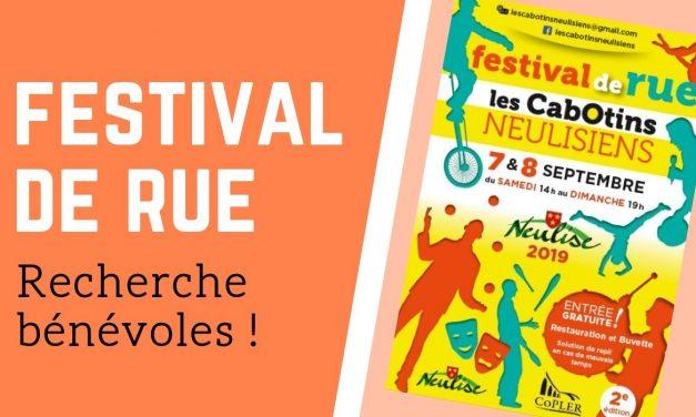 Festival recherche bénévoles!!