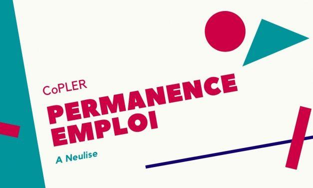 La CoPLER organise des permanences emploi à Neulise