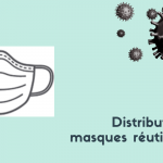 Distribution de masques réutilisables