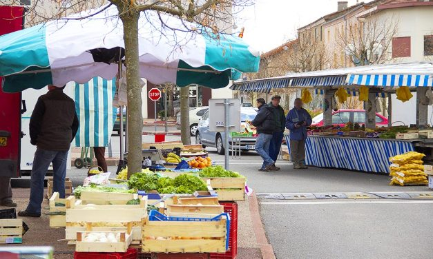 Réouverture du marché de Neulise