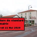 Fermeture du standard de la mairie le 22/05/2020