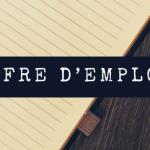 OFFRE D'EMPLOI – 1 vendeur H/F