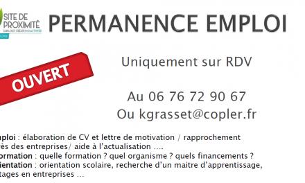Permanence emplois – Copler