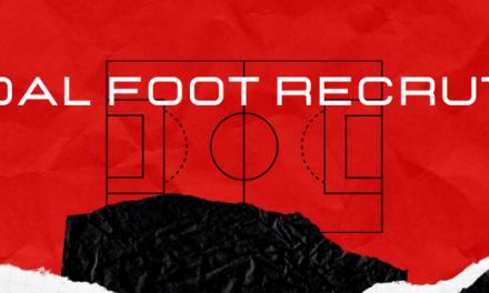 Goal foot recrute