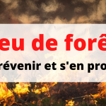Les usages du feu dans le département durant l'été 2020