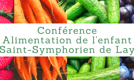 Conférence – Alimentation de l'enfant