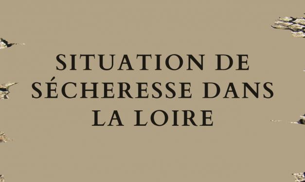 FIN DE LA SITUATION DE SÉCHERESSE SUR L'ENSEMBLE DU DÉPARTEMENT