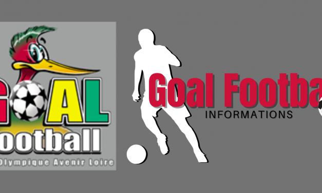 Retour à l'entrainement pour le Goal Foot