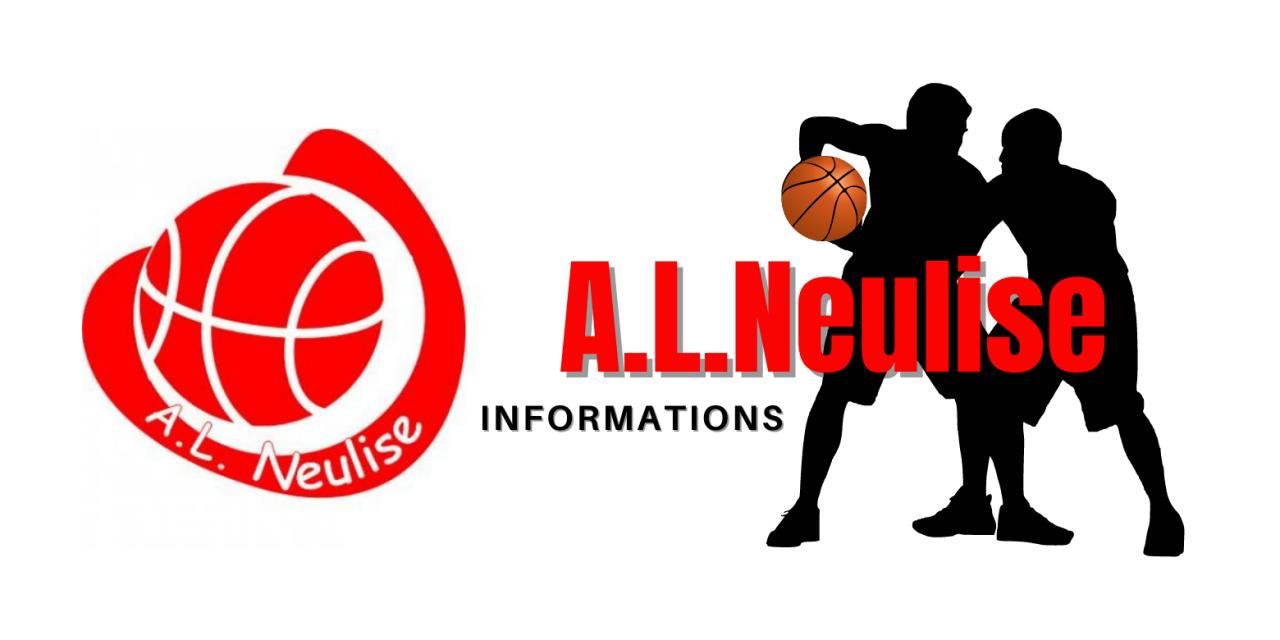 Programme du A.L.NEULISE Basket