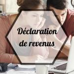 CAMPAGNE DECLARATIVE DES REVENUS 2021